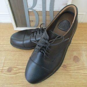 de7d7cbbc50 Dockers Shoes - Dockers Gordon Cap Toe Oxford Black Size 11.5W